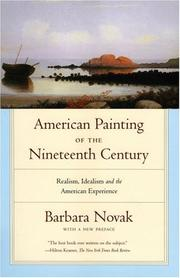 Cover of: American painting of the nineteenth century