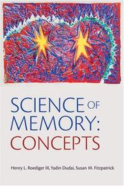 Cover of: Science of memory by