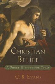 Cover of: Christian Belief: A Short History for Today