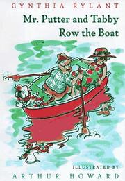 Cover of: Mr. Putter & Tabby Row the Boat (Mr. Putter & Tabby)