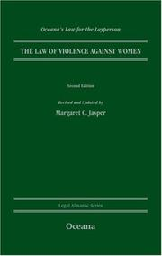 Cover of: Violence Against Women | Jasper Margaret