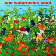 Cover of: One Watermelon Seed