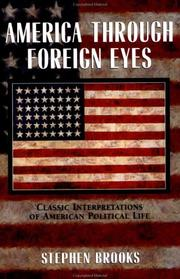 Cover of: America through foreign eyes