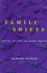 Family shifts by Margrit Eichler