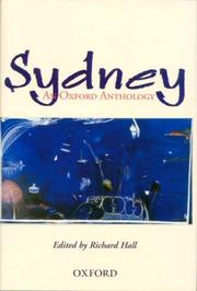 Cover of: The Oxford Book of Sydney | Richard Hall