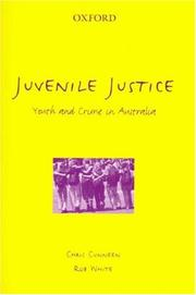 Cover of: Juvenile justice