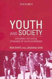 Cover of: Youth and society