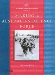 Cover of: Making the Australian Defence Force