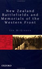 Cover of: New Zealand battlefields and memorials of the Western Front