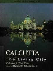 Cover of: Calcutta, the living city