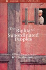 Cover of: The Rights of Subordinated Peoples |