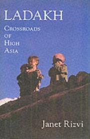 Cover of: Ladakh: crossroads of high Asia