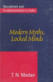 Cover of: Modern myths, locked minds