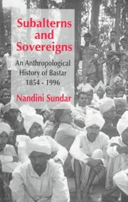 Cover of: Subalterns and Sovereigns | Nandini Sundar