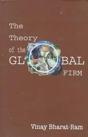 Cover of: The theory of the global firm