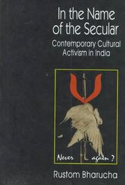 Cover of: In the name of the secular