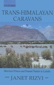 Cover of: Trans-Himalayan Caravans: Merchant Princes and Peasant Traders in Ladakh