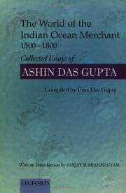 Cover of: The World of the Indian Ocean Merchant 1500-1800