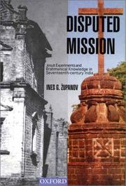 Cover of: Disputed mission | Ines G. ZМЊupanov