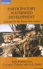 Cover of: Participatory watershed development