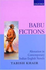 Cover of: Babu fictions