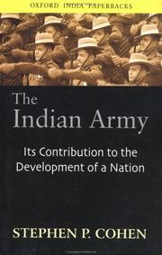 Cover of: The Indian Army