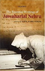 Cover of: The essential writings of Jawaharlal Nehru | Jawaharlal Nehru