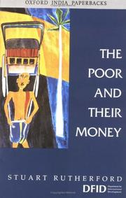 Cover of: The Poor and Their Money