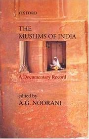 Cover of: The Muslims of India