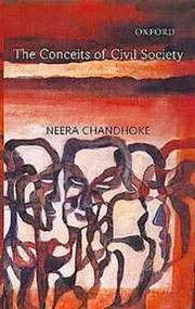Cover of: The conceits of civil society | Neera Chandhoke