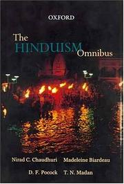 Cover of: The Hinduism omnibus | with an introduction by T.N. Madan.