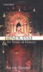 Hinduism and Its Sense of History