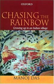 Cover of: Chasing the rainbow: growing up in an Indian village