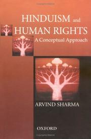 Cover of: Hinduism and human rights: a conceptual approach