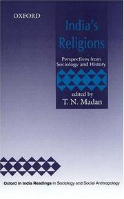 Cover of: India's Religions