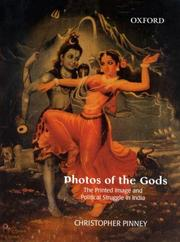 "Cover of: ""Photos of the Gods"""