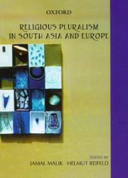 Religious pluralism in South Asia and Europe