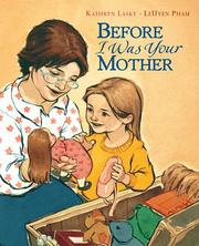 Cover of: Before I was your mother