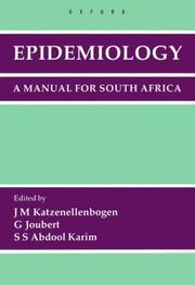 Cover of: Epidemiology |