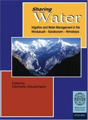 Cover of: Sharing Water