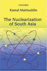 Cover of: nuclearization of South Asia | Kamal Matinuddin