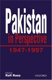 Cover of: Pakistan in Perspective, 1947-1997 (The Jubilee Series)