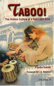 Cover of: Taboo | Fouzia Saeed