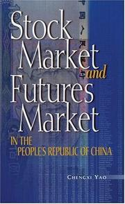 Cover of: Stock market and futures market in the People