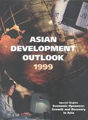 Cover of: Asian Development Outlook 1999