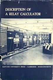 Description of a relay calculator.