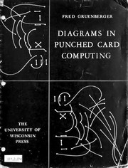 Diagrams in punched card computing.