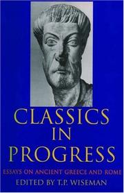Cover of: Classics in Progress | T. P. Wiseman