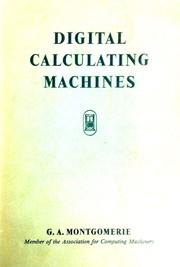 Digital calculating machines