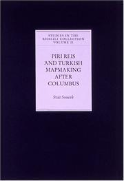 Cover of: Piri Reis & Turkish mapmaking after Columbus: the Khalili portolan atlas